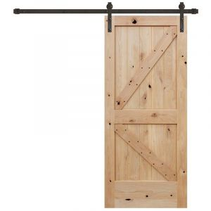 Barn Door Sliding Fitting with Soft Close