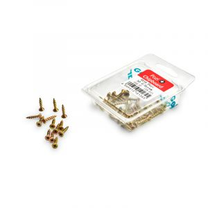 Chipboard Screws, Pozi, No.4, 2.8mm x 16mm, 50 Pieces