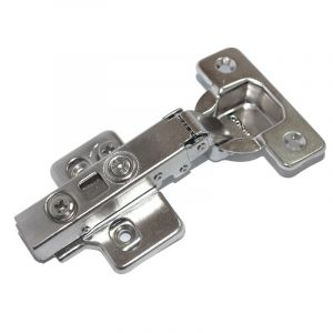 Soft Close Hinge, 0mm, with Cam Adjusting Plate