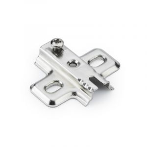 Titus Slide On Mounting Plate, Screw-on, 0mm