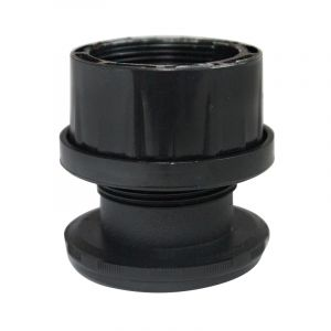 Leveling Foot, Round Tube Insert, Adjustable