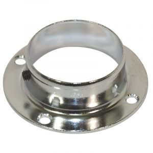 Pole System, Flange Bracket, Chrome Plated, 50mm