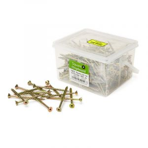 Chipboard Screws, Square, No.10, 4.8mm x 75mm, 200 Pieces
