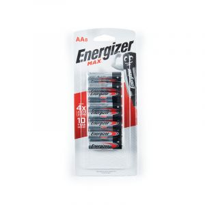 Energizer MAX Batteries, AA, 8 Pieces