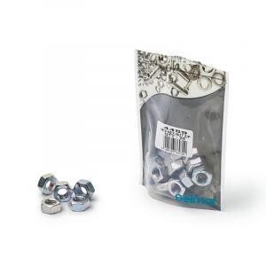 Hex Nuts, High Tensile, M10 x 17mm, 20 Pieces