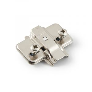 Titus T-Type Mounting Plate, 0mm, with Chipboard Screws
