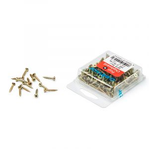 Chipboard Screws, Pozi, No.4, 2.8mm x 19mm, 200 Pieces