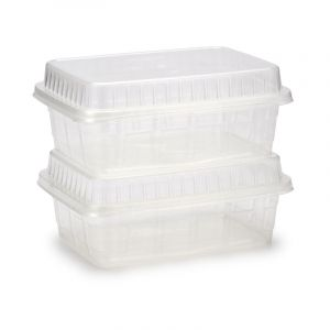 Storage Container, 2 Pieces