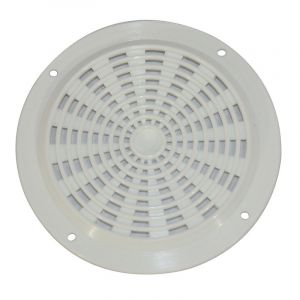 Air Vent, 63mm, Round, Plastic, White