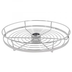 Pole System, Round Basket, Chrome Plated