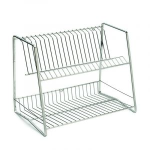 Dish Rack, Upright, Stainless Steel
