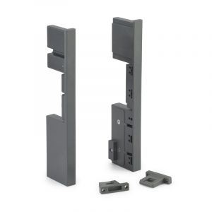 Starbox Slim Drawer Front Ends, H171mm, 1 Pair, Grey
