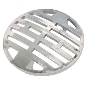 Shower Grid, Round, Chrome Plated, 75mm