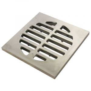Shower Grid, Square, Chrome Plated, 75mm