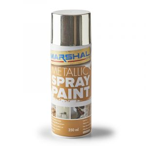 Marshal Spray Paint, Chrome, 350ml