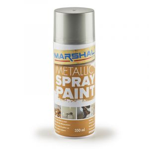 Marshal Spray Paint, Bright Silver, 350ml