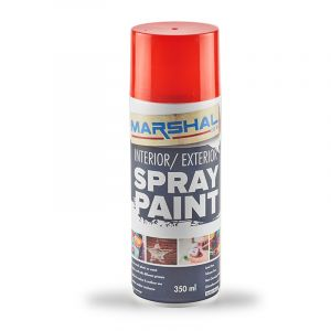 Marshal Spray Paint, Fire Red, 350ml