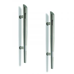 Entrance Door Handle, Tapered, Stainless Steel, 300mm