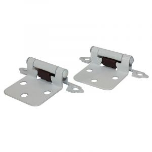 Self Closing Hinge, 3 Knuckle, White